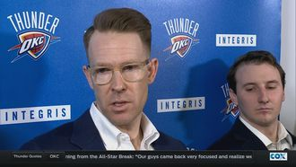 Presti, Durant on acquiring Randy Foye