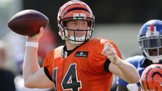 Bengals offense clicks in second practice with Giants