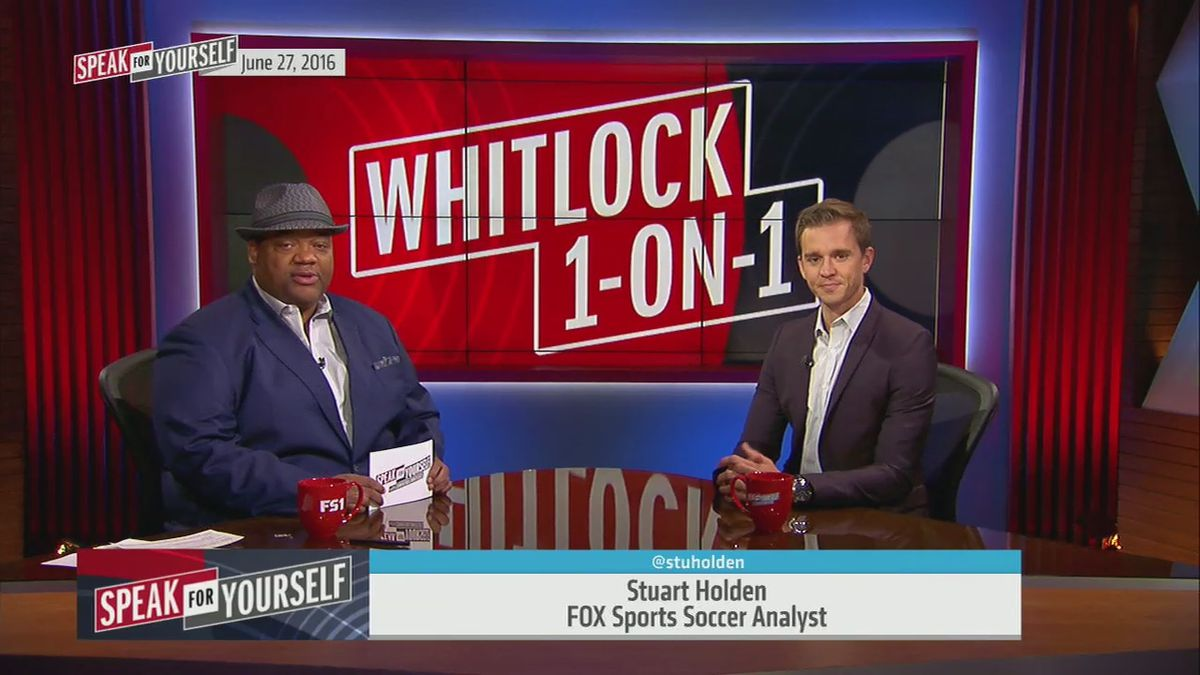 Whitlock 1-on-1: Stuart Holden on Messi's retirement - 'Speak for Yourself'